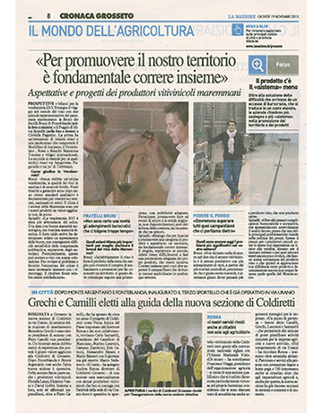 Articolo LA NAZIONE 19_11_2015